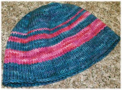 Topper-Down Hat by LynnH
