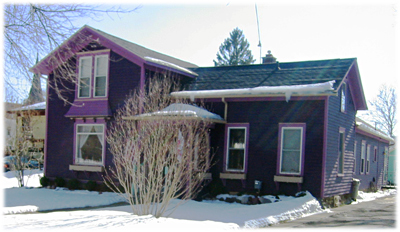 Purple House In Marshall Michigan