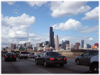 chicagoskylinegorgeoustraffic400