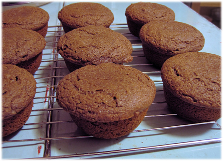 applesauce buckwheat muffins