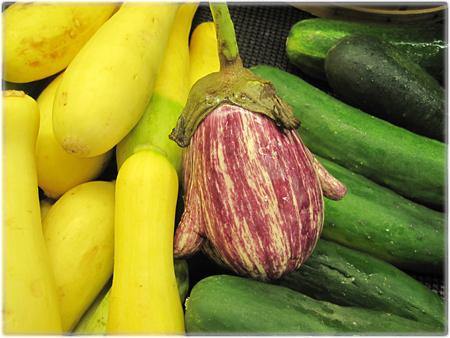 eggplant with ears