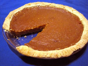 No Allergy Pumpkin Pie