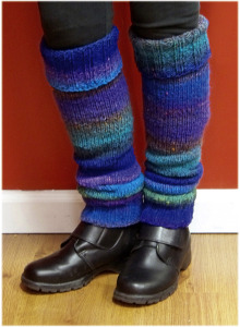 Road-Tested Noro Legwarmers